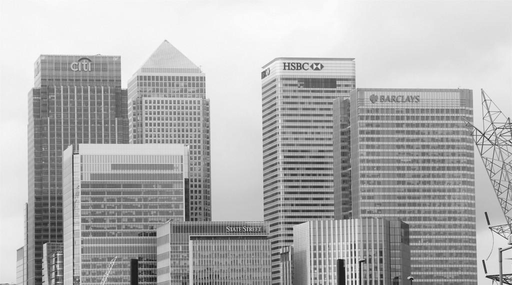 Banks in central London