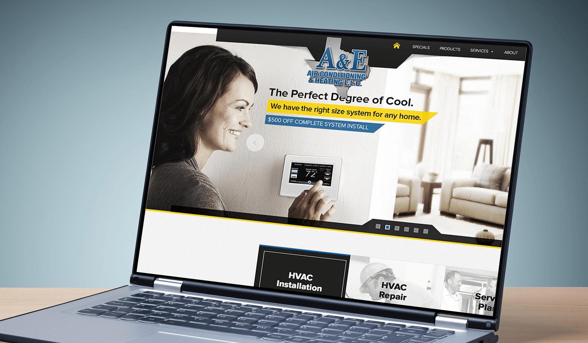 A&E Website
