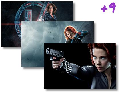 Black Widow theme pack