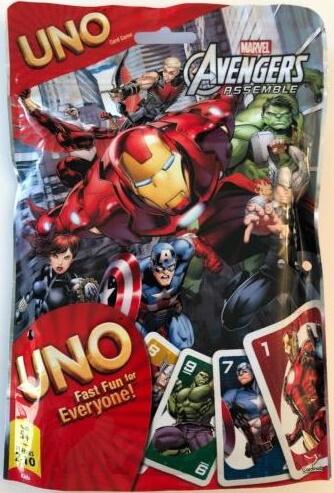 Marvel Avengers Assemble Uno