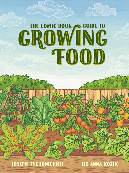 The Comic Book Guide to Growing Food cover