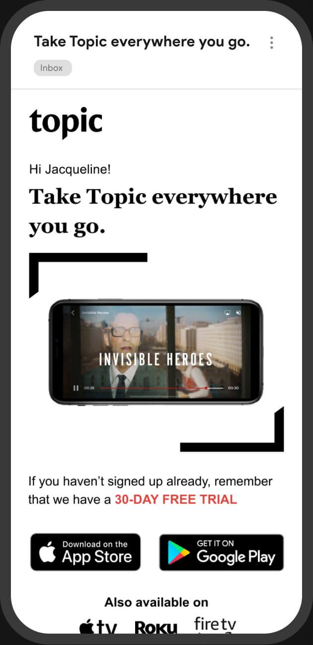 Topic Mobile 1