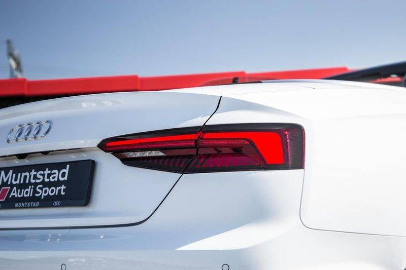 Audi A5 Cabriolet 3.0 TFSI S5 quattro   354 PK   S-Line   B&O Sound   Assistentie City-Parking   S-Sportstoelen   Virtual Cockpit   Keyless-entry   Massage-Stoelen   afbeelding 19