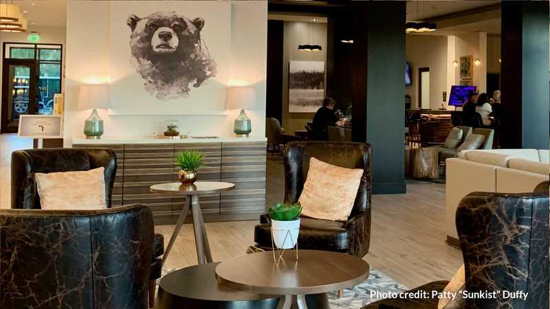 Lobby of Residence Inn by Marriott, Bend, Oregon
