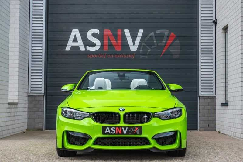 BMW M4 Cabrio Competition, DCT, 450 PK, Harman/Kardon, LED. Comfort/Toegang, Surround View, DAB, Head/Up, 9500KM!! afbeelding 24
