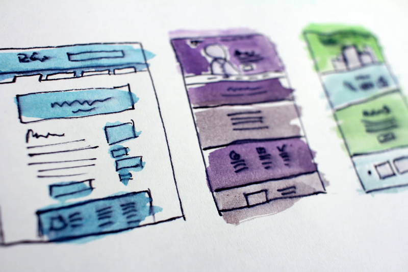 Design, concepts, wireframes