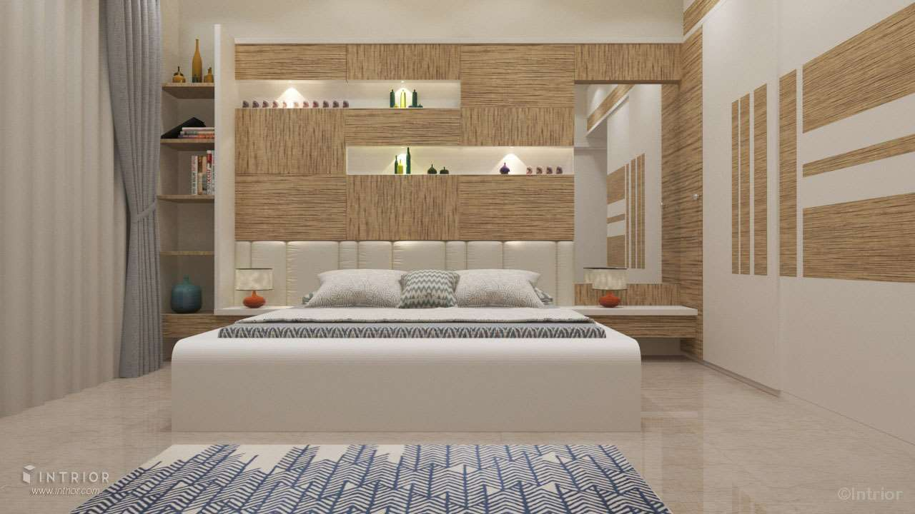 Bed paneling design