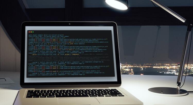 warn chunk commons [mini-css-extract-plugin] gatsby js on Laptop