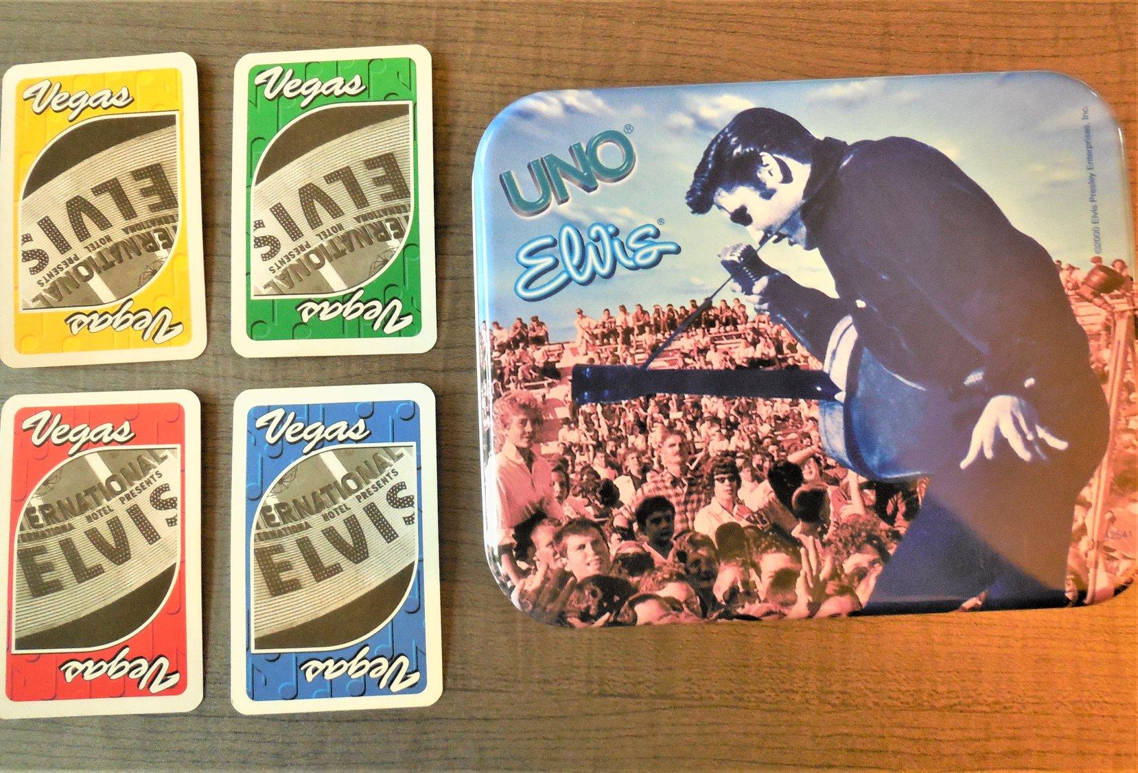 Elvis Uno Card Game