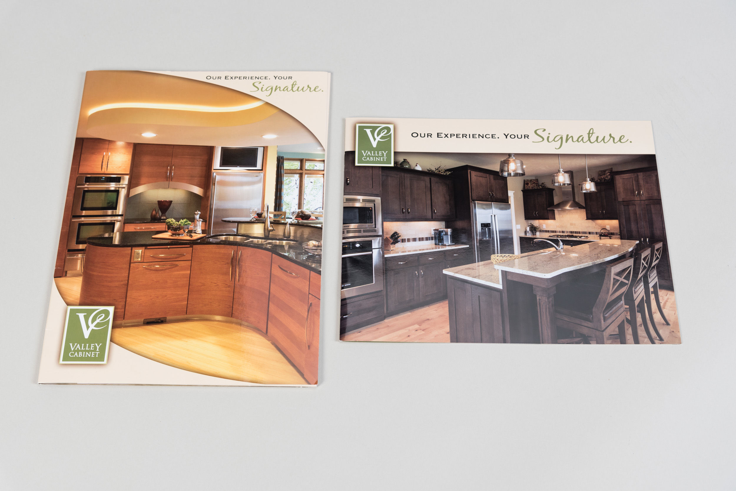Valley Cabinet Brochure Side by Side