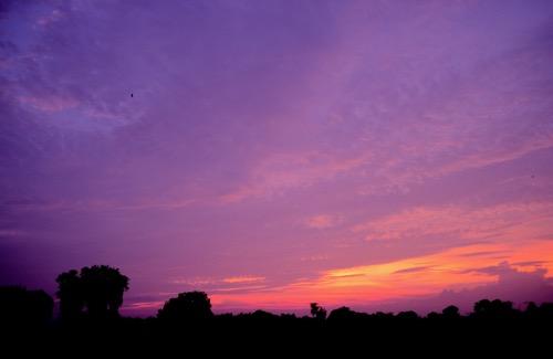 A Rajasthan Sunset