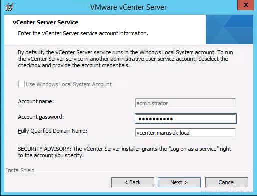 vCenter 5.5 on Windows Server 2012 R2 with SQL Server 2014 – Part 3 - 39