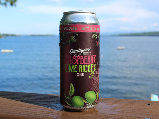 Raspberry Lime Rickey, a Sour Ale brewed by Smuttynose Brewing Company
