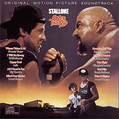 The Over the Top Soundtrack album cover