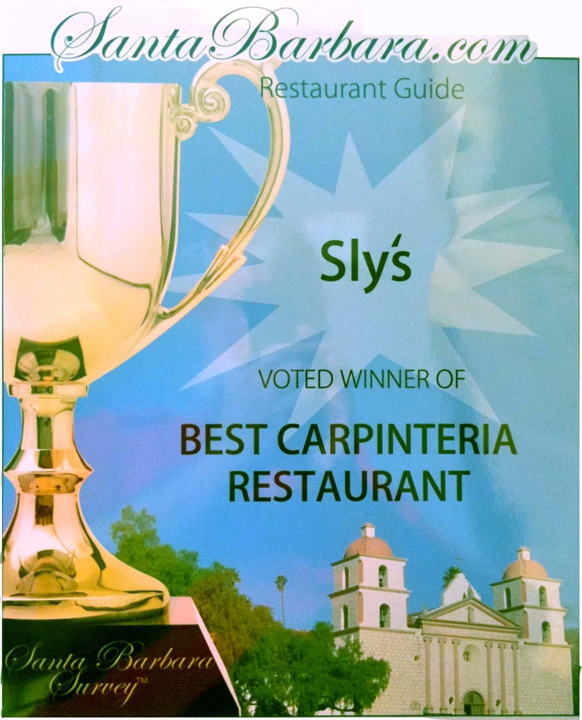 Best Carpinteria Restaurant
