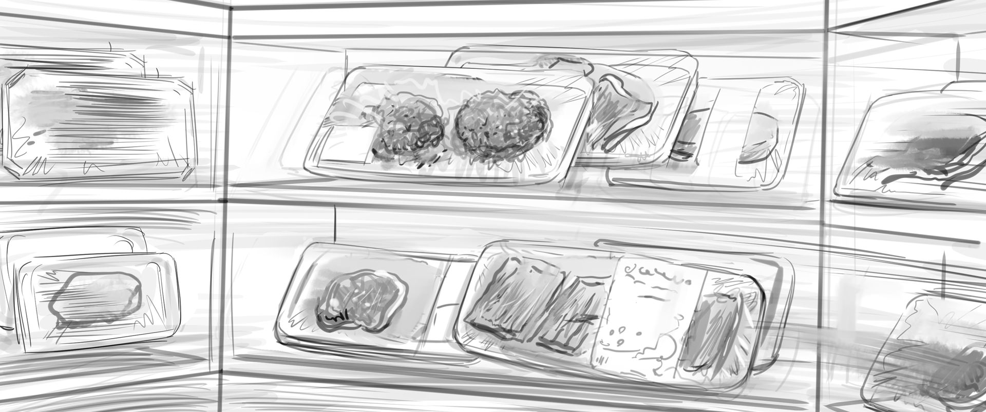 Lidl Vis TV Commercial storyboard 04