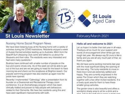 Stlouis newsletter nursinghome march