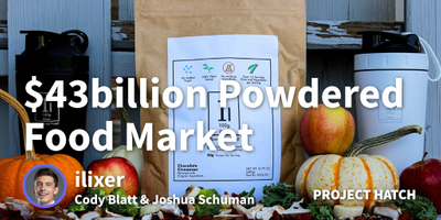 featured image thumbnail for post How and Why We're Entering the (Potentially) $43B Powdered Food Market