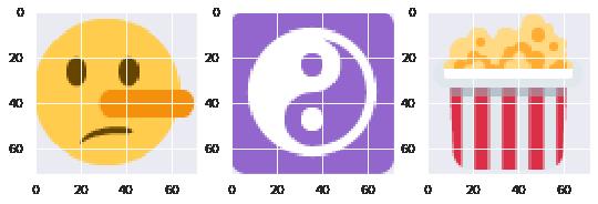 Top-level Cluster 5 Sampled Emojis