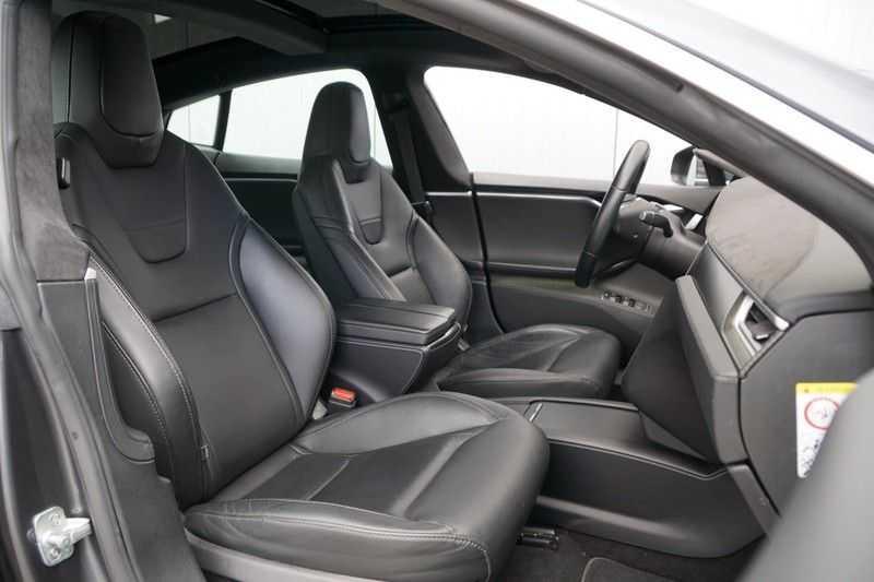 Tesla Model S P90D Performance Ludicrous 576pk / Autopilot / Pano / 21inch / Carbon / 162.500,- Nieuw afbeelding 7