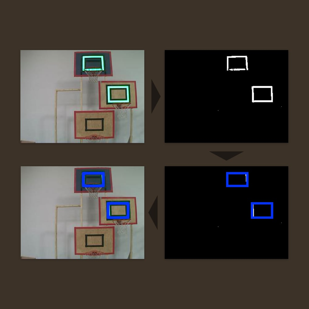 Demonstration of Vision Processing