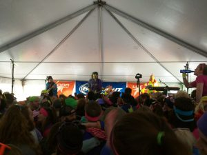 Fast Times Boston rocking the Bud Light Concert Tent next to Seven Brothers