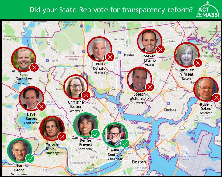 North Boston votes