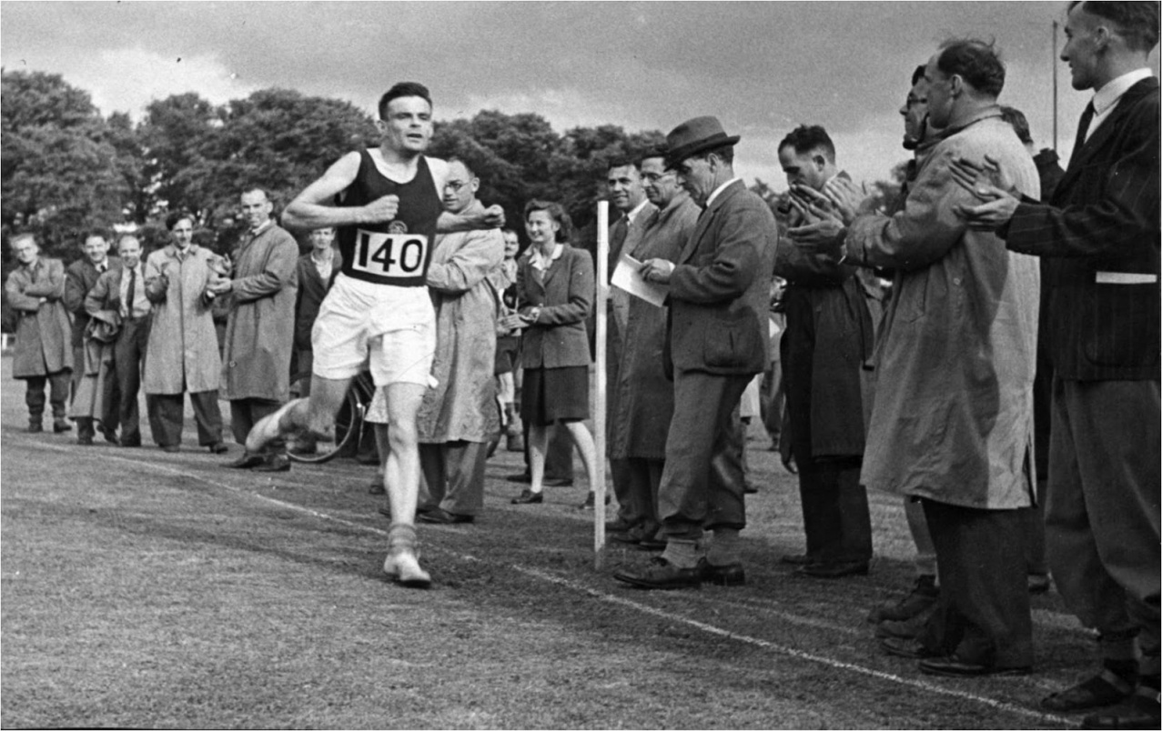 "6.4: Aside from his many other achievements, Alan Turing was an excellent long distance runner who just fell shy of making England's olympic team. A fellow runner once asked him why he punished himself so much in training. Alan said ""I have such a stressful job that the only way I can get it out of my mind is by running hard; it's the only way I can get some release."""