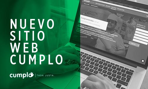 Nueva web Cumplo