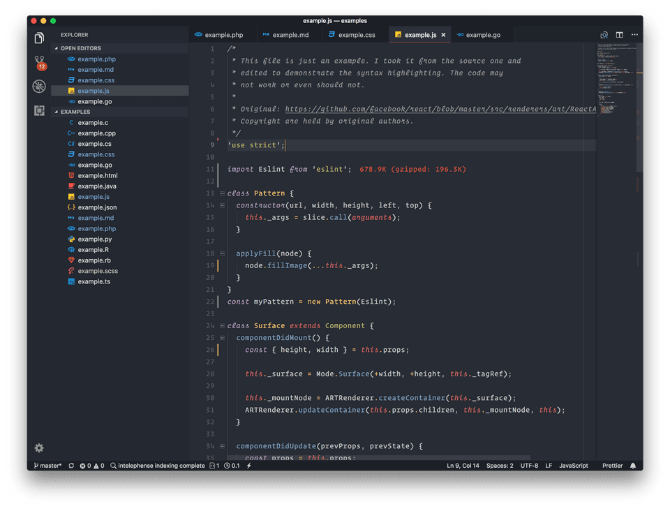 Beautiful UI 1.2 for VSCode with minimal themes