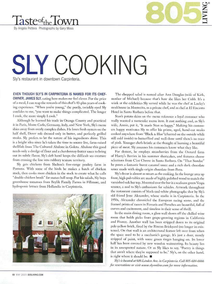 Sly's Restaurant, Carpinteria, CA