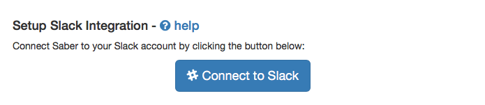 Slack Integration Stage 1
