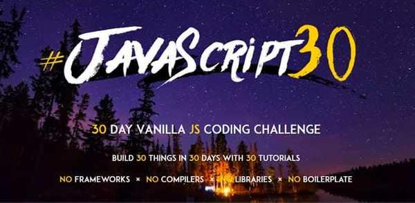 Javascript30 top JavaScript course