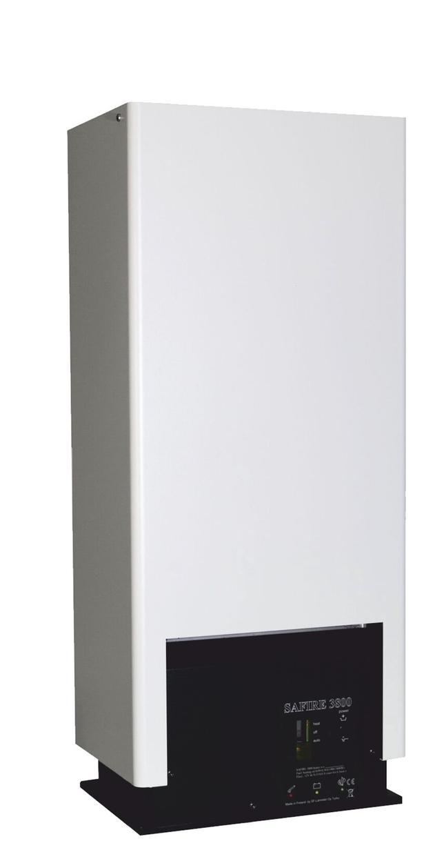 Safire 3800 hyttevarmer, hvit