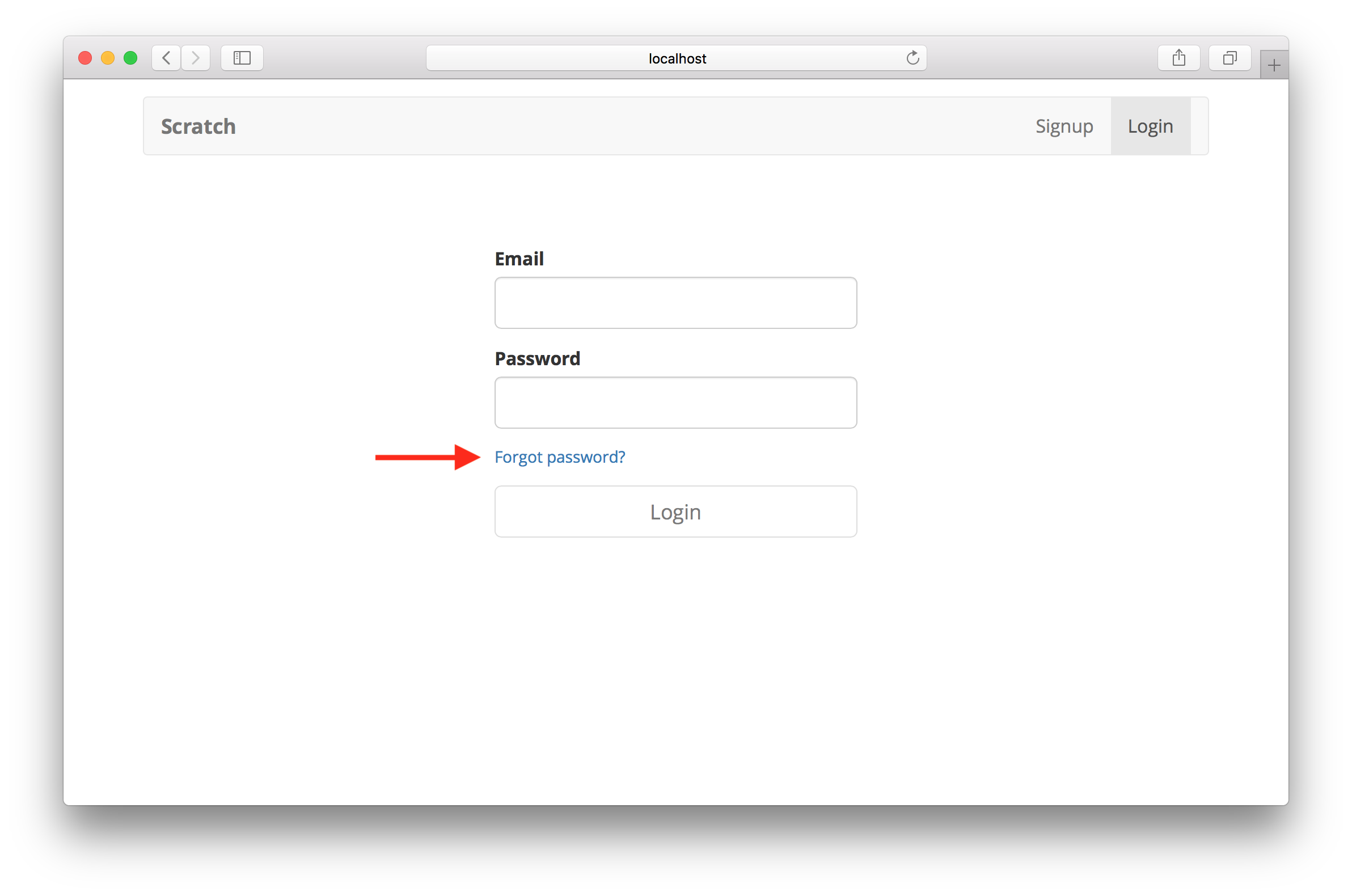 Handle Forgot and Reset Password | Serverless Stack