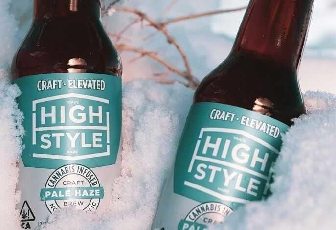 High Style Cannabis Beer