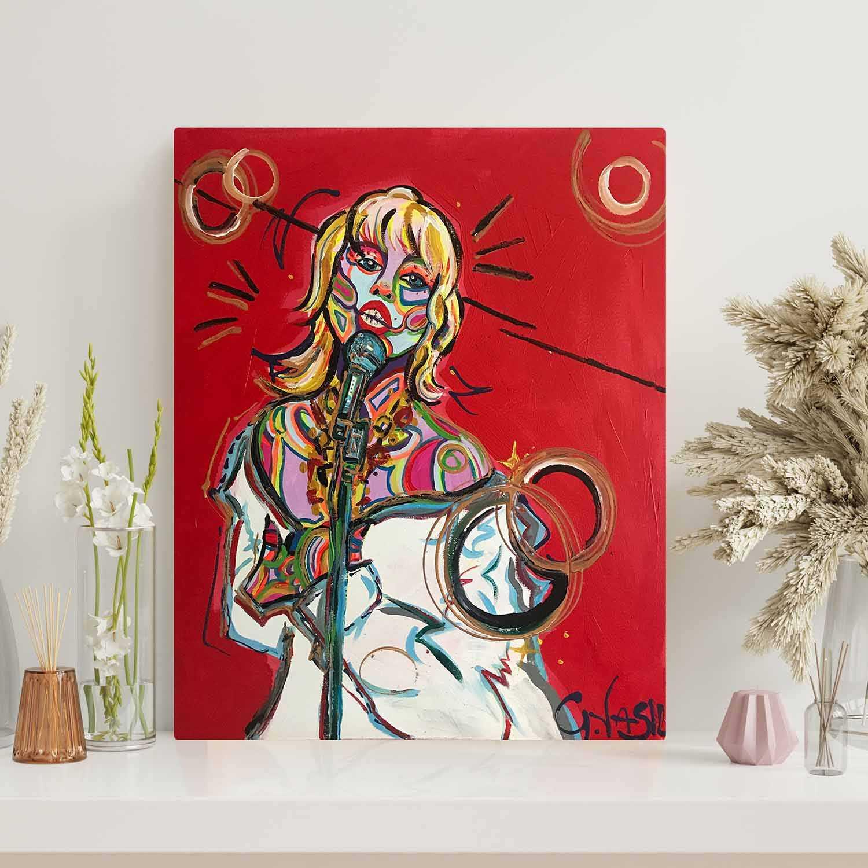 'Miley' Original Painting
