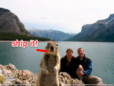 The GitHub Shipit Squirrel
