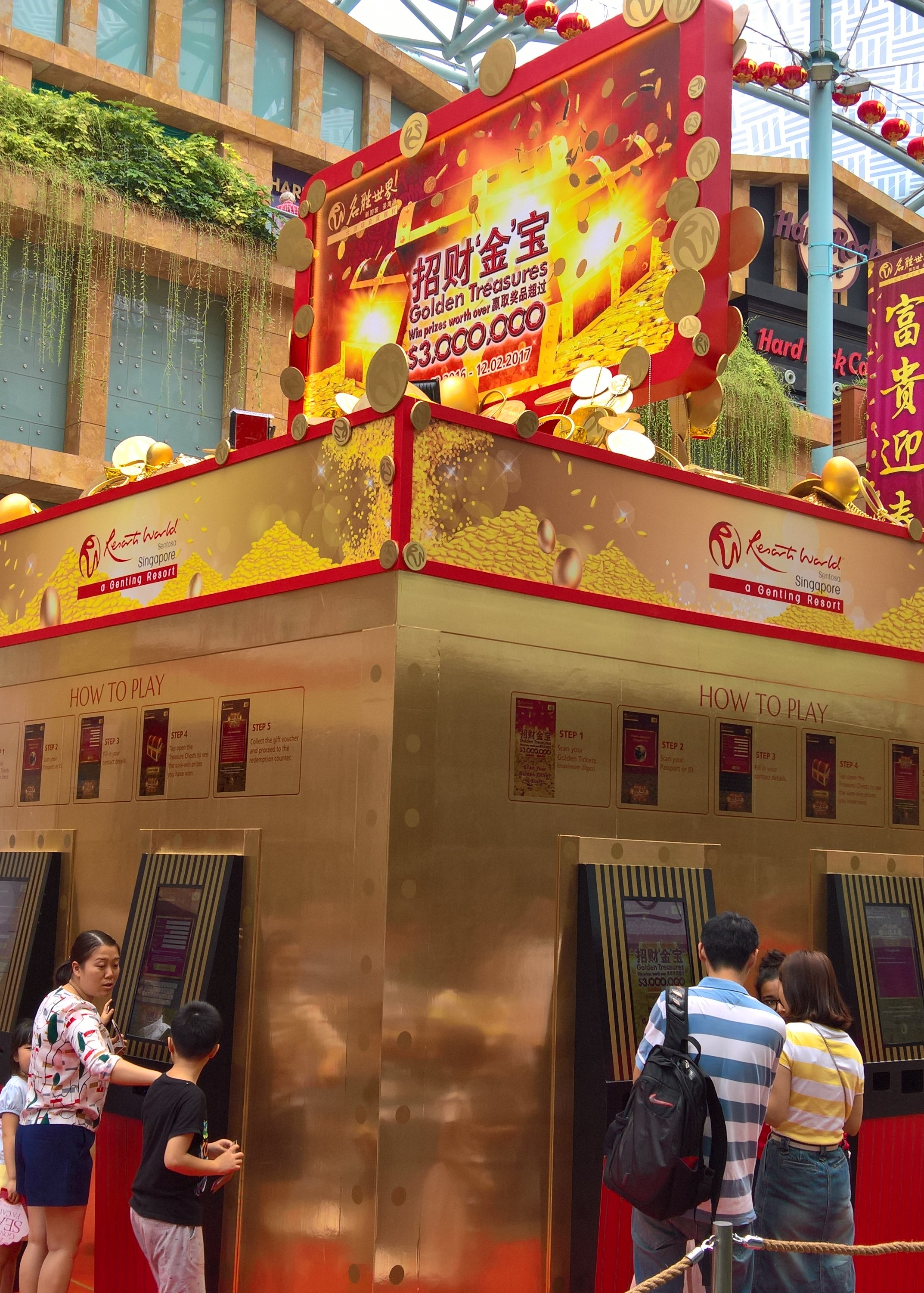 Resorts World Sentosa Million Dollar Bonanza