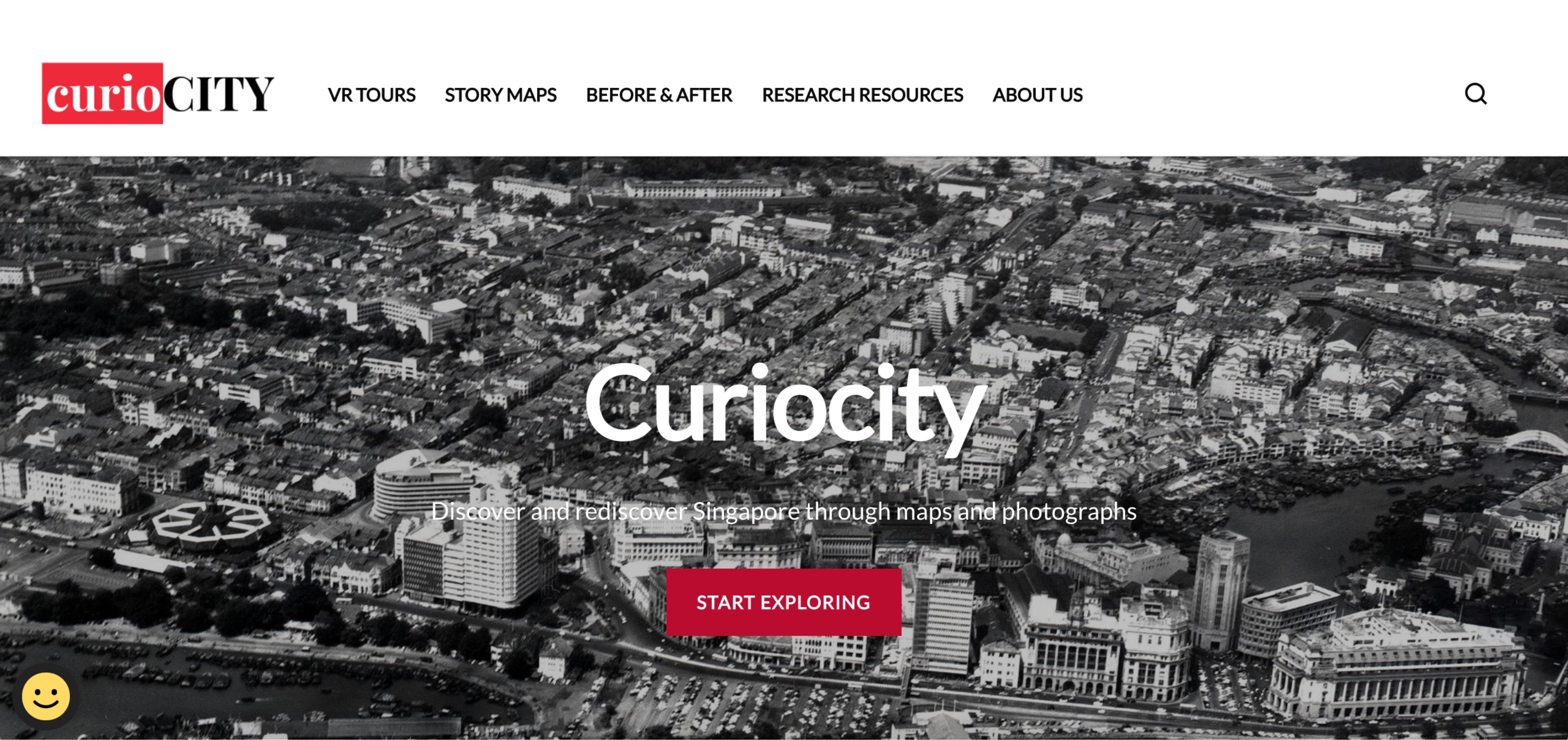 Curiocity screengrab