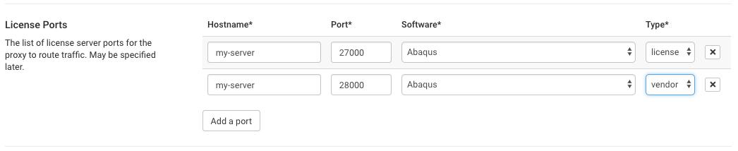 License ports new
