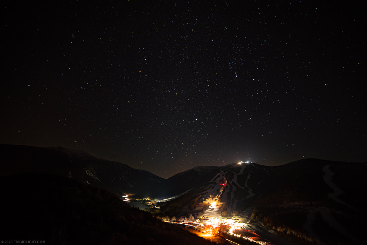 Stars over Cannon Mountain