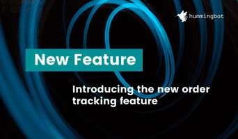 New order tracking feature