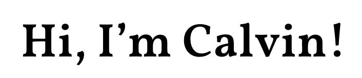calvinrosser.com logo