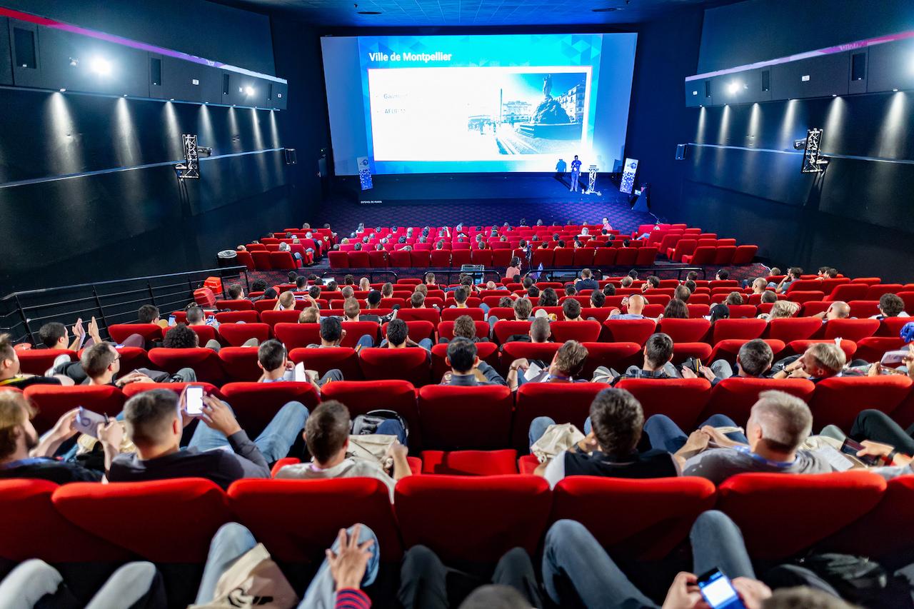 le Gaumont Odyseum, lieu du PHPTour