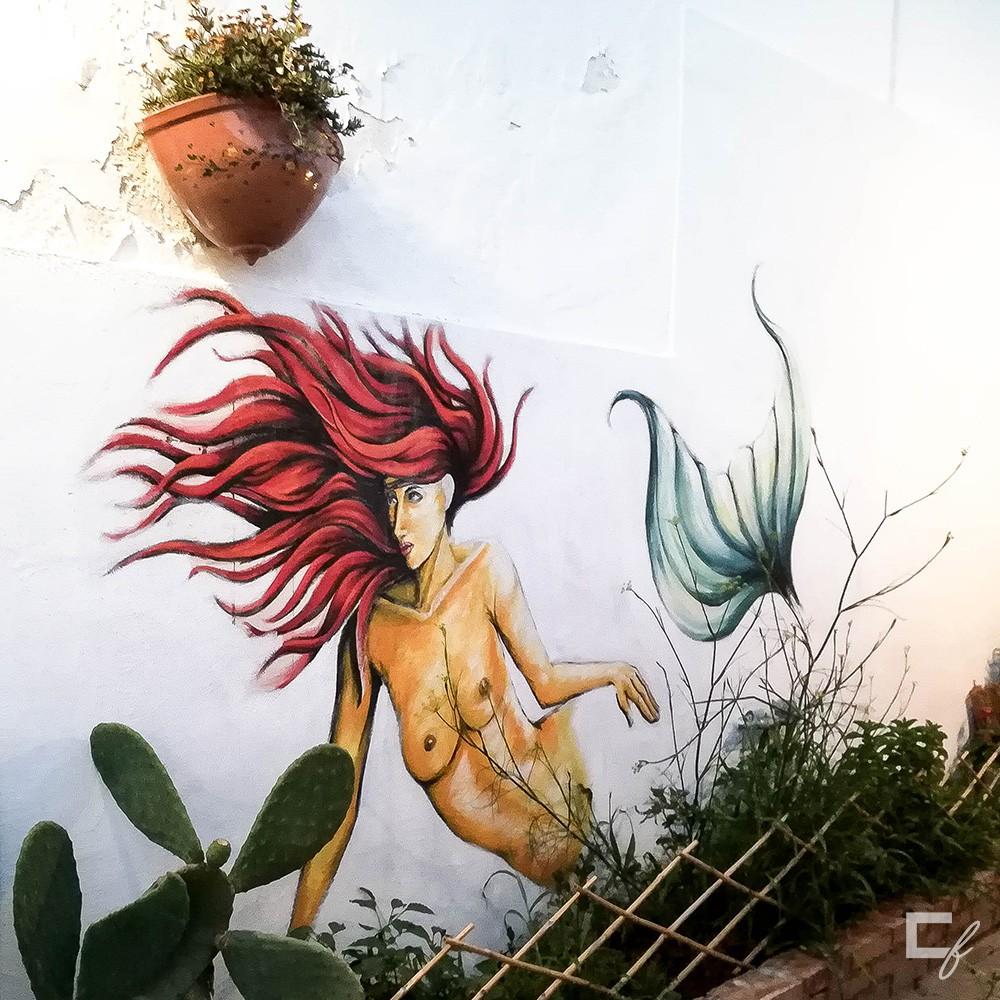 Murale Sirena, Marzamemi