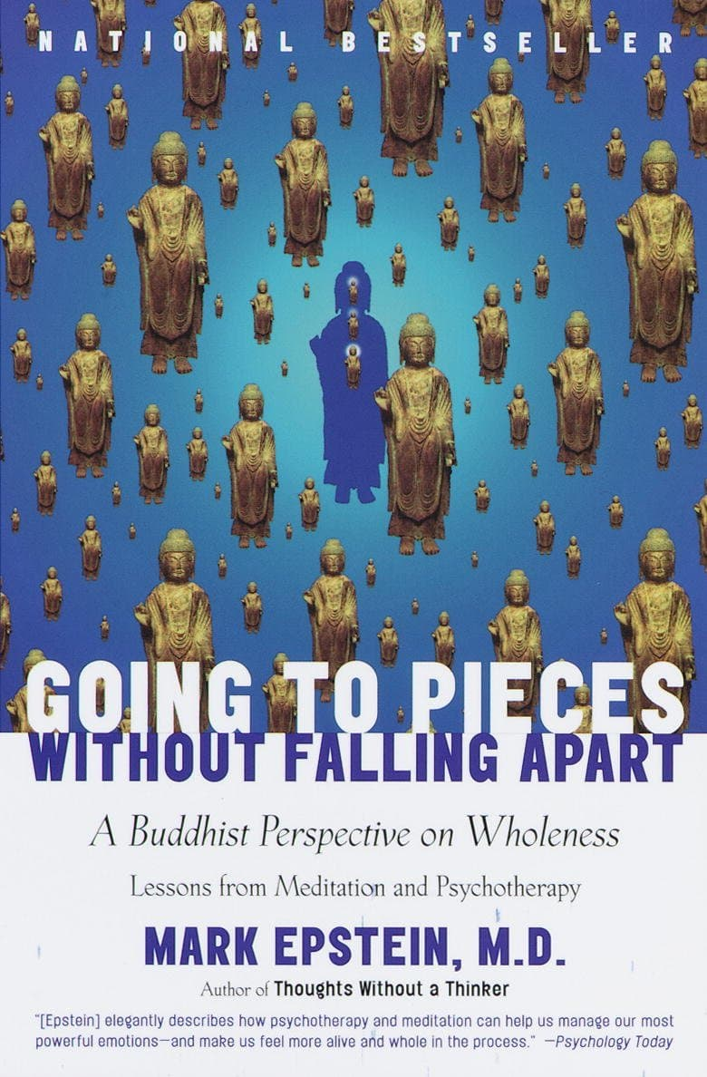 The cover of Going to Pieces Without Falling Apart