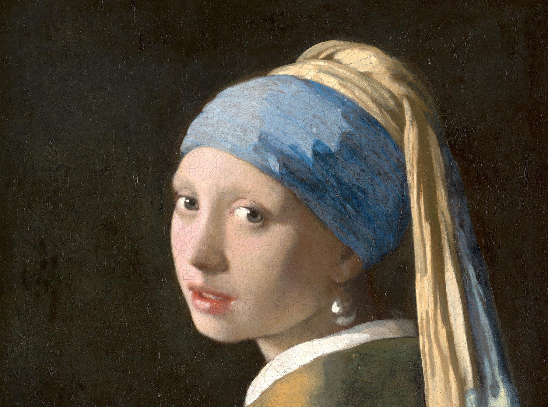 Johannes Vermeer, Meisje met de parel. c. 1665
