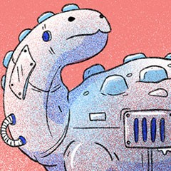 featured image thumbnail for post The Digital Dinosaur Level