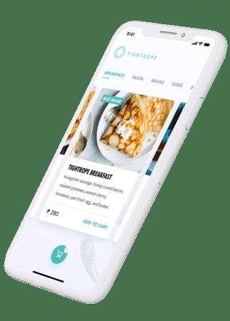 Tightrope App on Phone